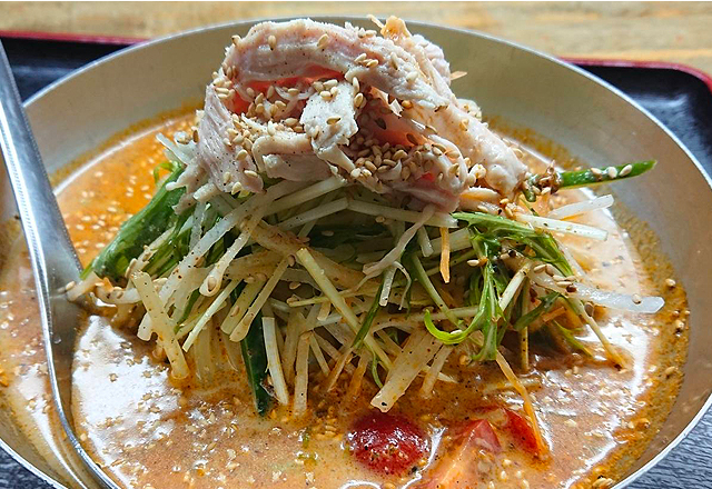 徳島の焼肉屋の冷麺